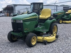 Riding Mower For Sale:  2002 John Deere GT245 with Front Blade , 20 HP