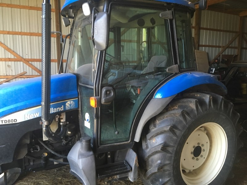 2007 New Holland TD80D Tractor For Sale