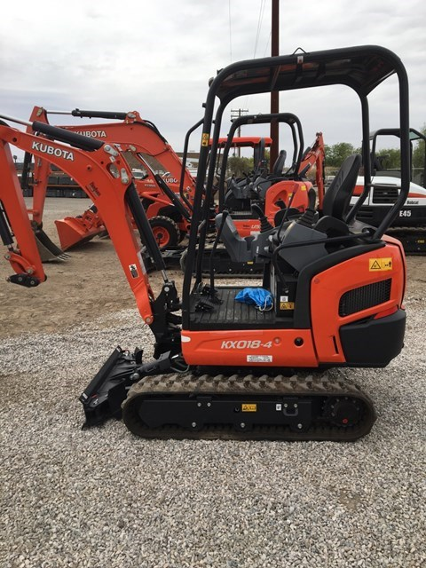 Kubota KX018-4R1 Excavator-Track