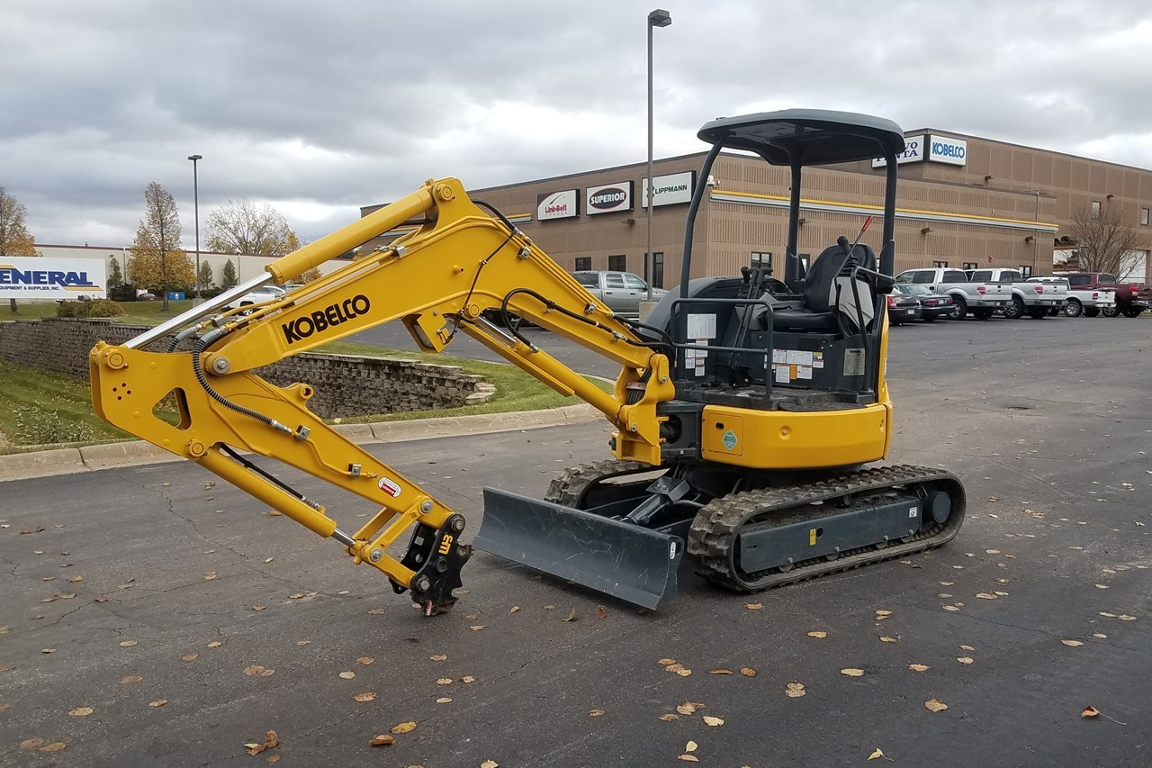 2018 Kobelco SK30SR-6E Excavator Mini For Sale