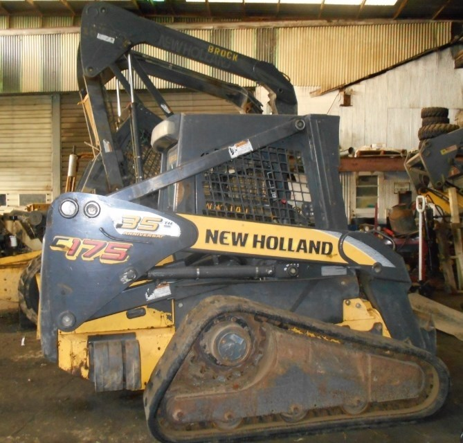 2007 New Holland C175 Skid Steer-Track For Sale