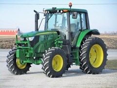 Tractor For Sale 2017 John Deere 6120M CAB-24PQ+ , 120 HP