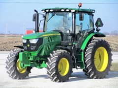 Tractor For Sale 2018 John Deere 6130R-24AQ+25 , 130 HP