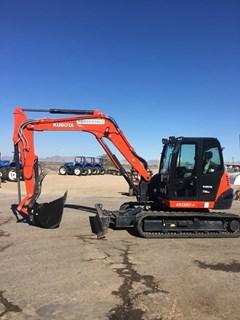 Excavator-Track :  Kubota KX080-4SR3A