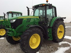 Tractor For Sale 2017 John Deere 6155M , 155 HP