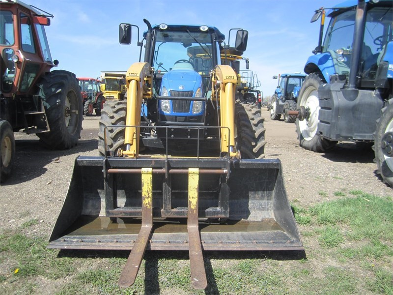 2008 New Holland T5070 Tractor For Sale
