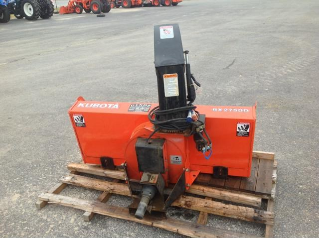 2013 Kubota BX2750D Snow Blower For Sale