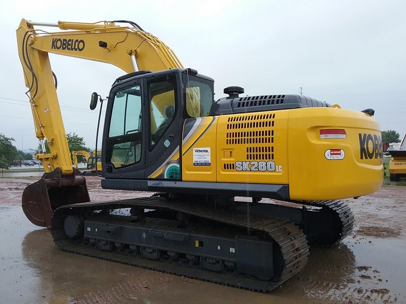 2018 Kobelco SK260LC-10 Excavator For Sale