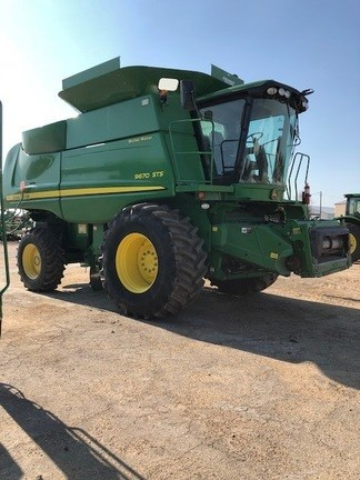 2010 John Deere 9670 STS Combine For Sale