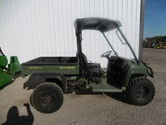 2008 John Deere XUV 850D OLIVE Utility Vehicle For Sale