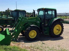Tractor For Sale 2016 John Deere 6130M , 130 HP