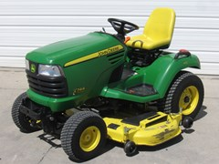 Riding Mower For Sale 2012 John Deere X744 , 24 HP