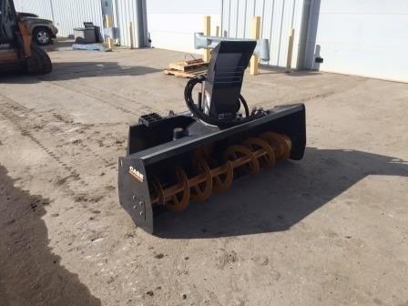 2014 Case 72SS, StdFlow Hydraulics, Skidsteer Mount Quitanieves a la venta
