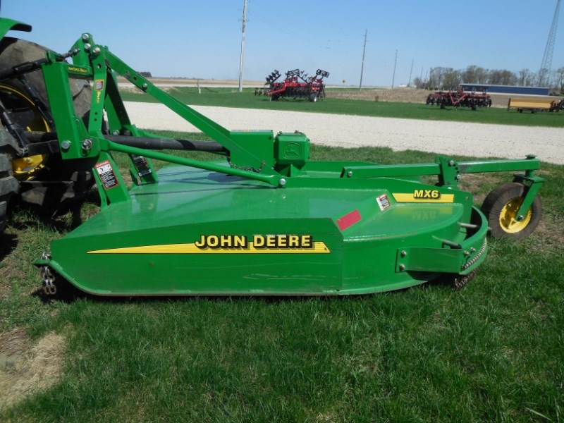 2014 John Deere MX6 Rotary Cutter For Sale
