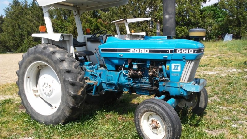 1987 Ford 6610 Tractor For Sale