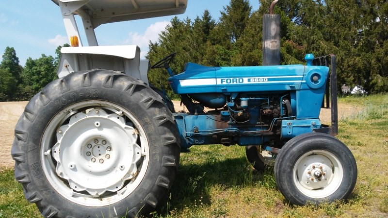 1980 Ford 6600 Tractor For Sale