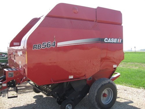 Baler-Round For Sale:  2012 Case IH RBX564