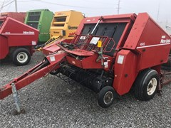 Baler-Round For Sale New Idea 4845