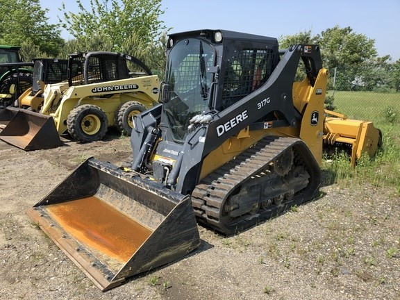 2017 John Deere 317G Skid Steer-Track For Sale