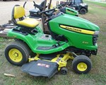 Riding Mower For Sale: 2012 John Deere X324, 22 HP