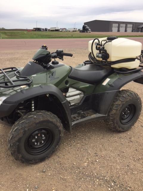 2003 Honda 2003 RINCON TRX650FA 4X4 WITH FIMCO SPRAYER ATV For Sale