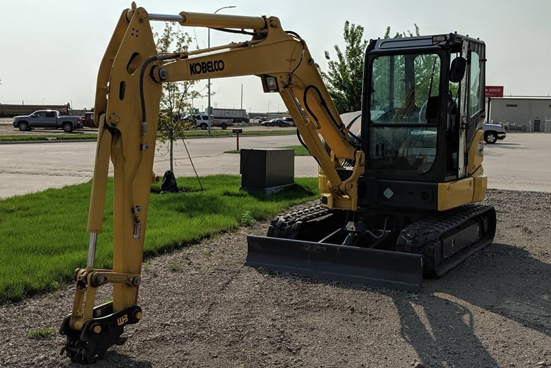 2018 Kobelco SK55SRX-6E Excavator Mini For Sale