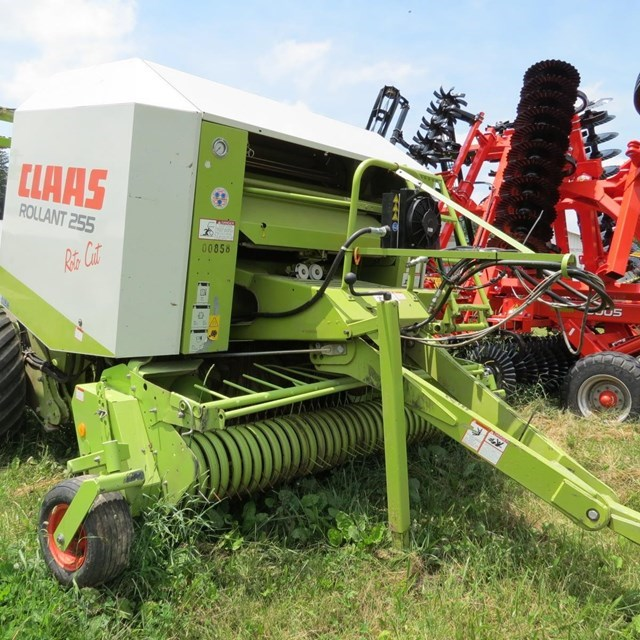 2001 Claas ROLLANT 255RC UNIWRAP Baler-Round For Sale