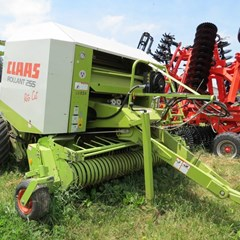 Baler-Round For Sale 2001 Claas ROLLANT 255RC UNIWRAP