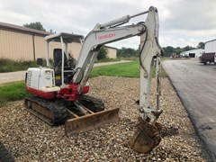 Excavator-Mini For Sale Takeuchi TB135 , 28 HP