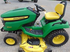 Riding Mower For Sale 2009 John Deere X540 , 26 HP