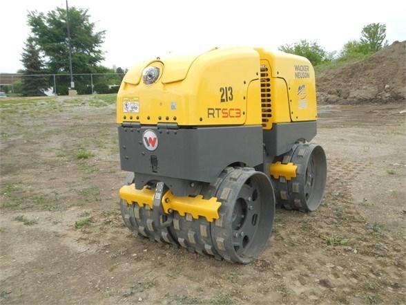2018 Wacker RTXSC-3 Compactor-Soil