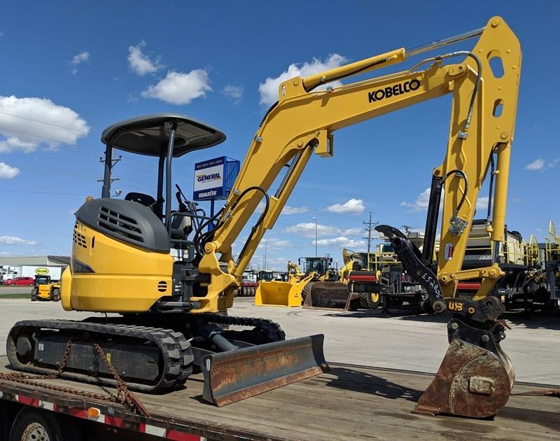 2018 Kobelco SK35SR-6E Excavator Mini For Sale
