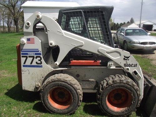 Skid Steer For Sale:  2001 Bobcat 773 TURBO , 56 HP