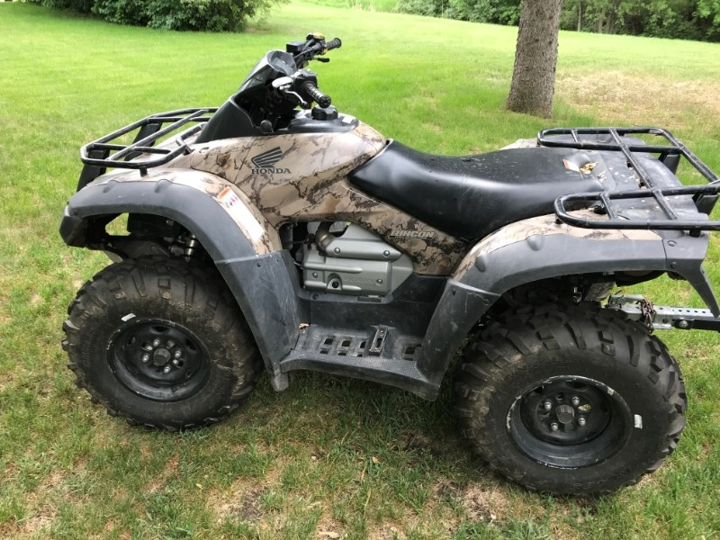 2008 Honda TRX680FA ATV For Sale