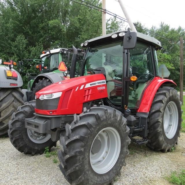 2014 Massey Ferguson 5609 DYNA-4 Tractor For Sale