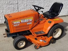 Riding Mower For Sale 1989 Kubota G6200H , 16 HP