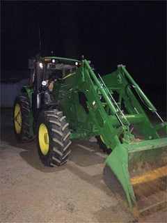 Tractor For Sale 2016 John Deere 6155M , 123 HP