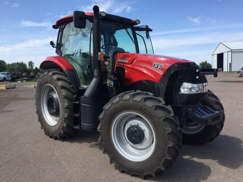 2017 Case IH Maxxum 135 Tractor For Sale