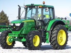 Tractor For Sale 2018 John Deere 6130M CAB-24AQ+ , 130 HP