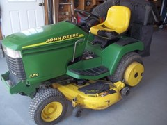 Riding Mower For Sale 1999 John Deere 325 , 18 HP