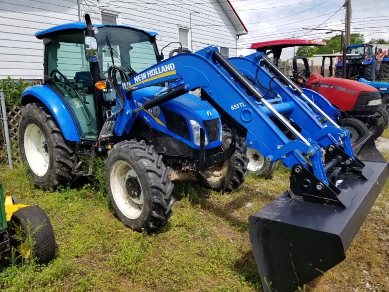2012 New Holland T4.75 MFD CAB LDR Tractor For Sale
