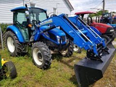 Tractor For Sale 2012 New Holland T4.75 MFD CAB LDR , 64 HP