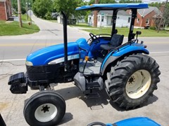 Tractor For Sale 2008 New Holland TD80D , 62 HP