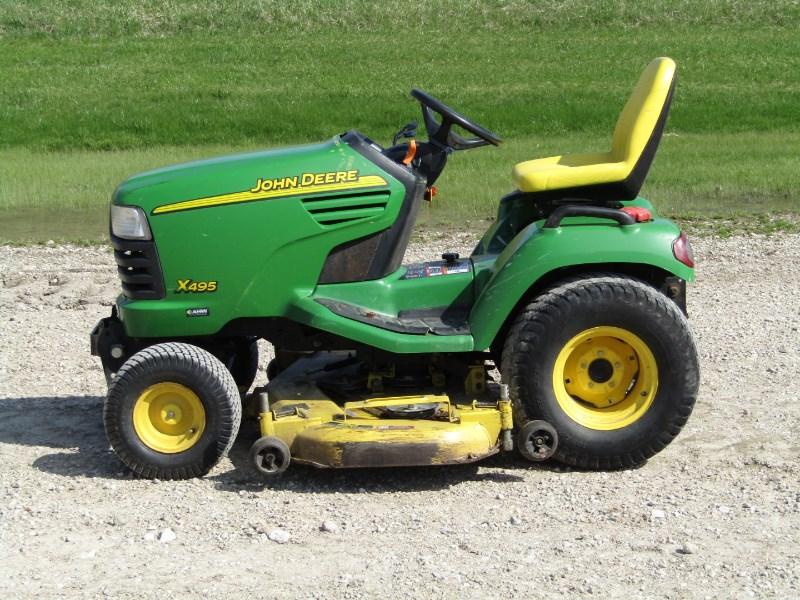 2003 John Deere X495 Riding Mower For Sale