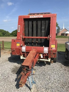 Baler-Round For Sale Hesston 5540