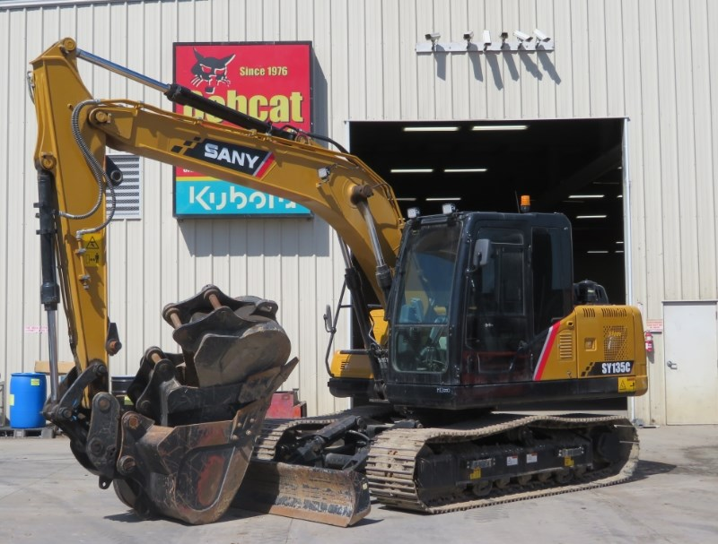 2017 Sany SY135C Excavator-Track For Sale
