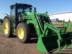 Tractor For Sale 2017 John Deere 6155R , 155 HP