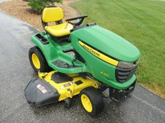 Riding Mower For Sale 2010 John Deere X340 , 25 HP