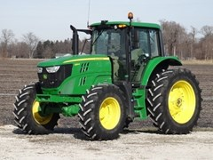 Tractor For Sale 2018 John Deere 6155M CAB-20PQ+ , 155 HP
