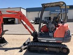 Excavator-Track For Sale:  Kubota KX71-3